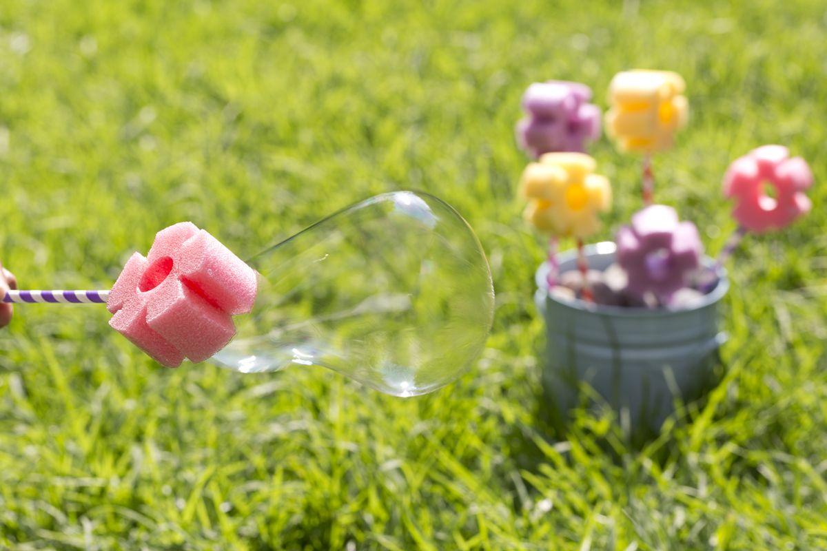 Photo of Cómo hacer unas Burbujas de Flores