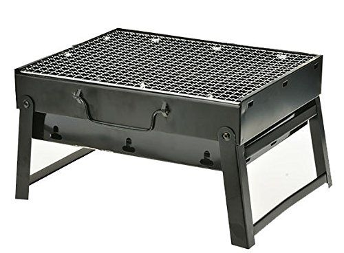 Stainless Steel Bbq Barbecue Grill Compact Charcoal Grill Outdoor