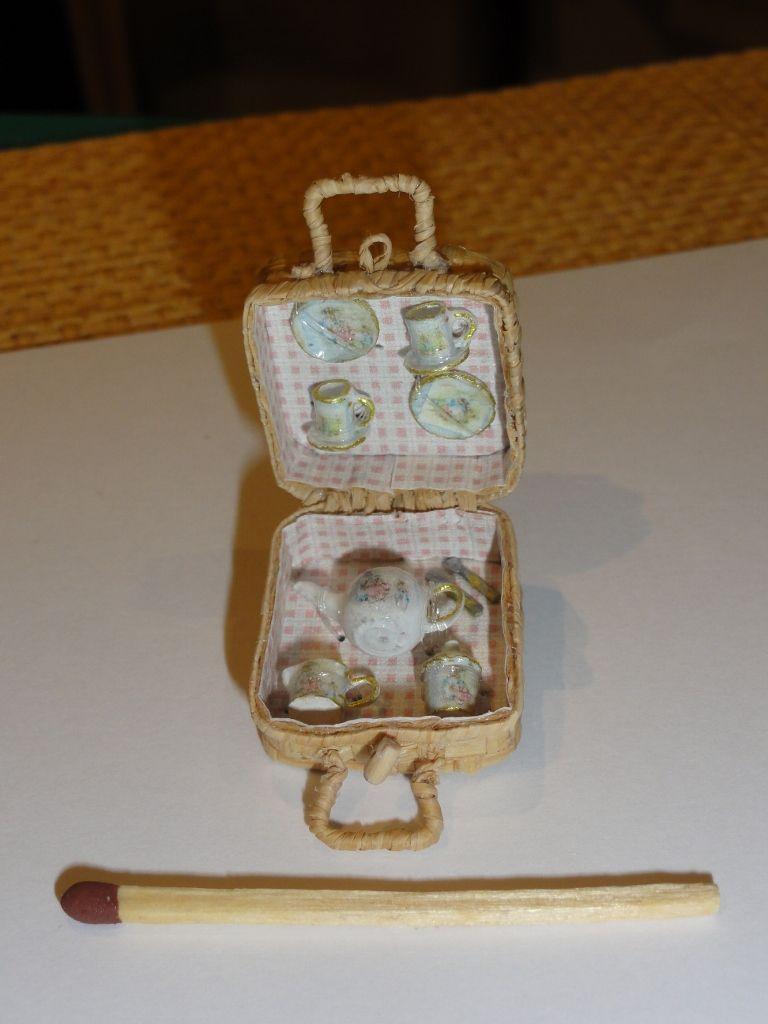 Butterfly Net Maison de Poupées Miniature