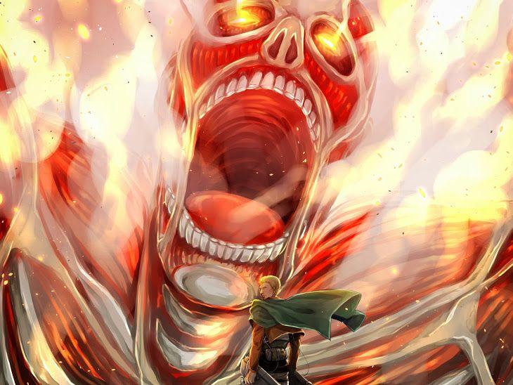 Colossal Titan Reiner Braun Attack On Titan Shingeki No Kyojin Anime Hd Wallpaper 1920x1440 Kyojin Shingeky Shingeki No Kyojin