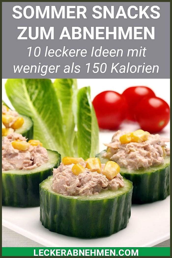 Snacks mit wenig Kalorien – 10 Sommer Rezepte zum Abnehmen #Abnehmen #Fitness food diy #Fitness food...