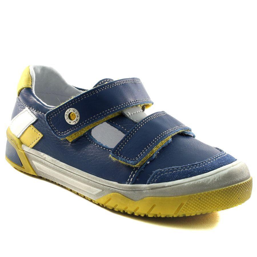 a3923dbbcb9c2 058A LOUP BLANC HERCULE BLEU www.ouistiti.shoes le spécialiste internet   chaussures  bébé