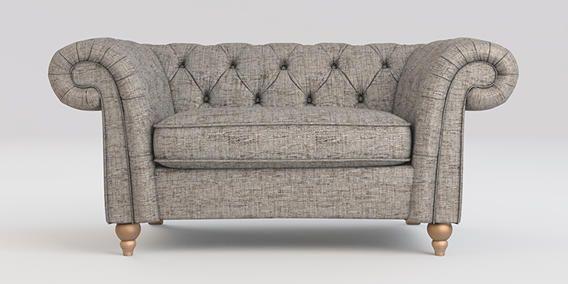 Brilliant Buy Gosford Buttoned Snuggle Seat 2 Seats Boucle Weave Creativecarmelina Interior Chair Design Creativecarmelinacom