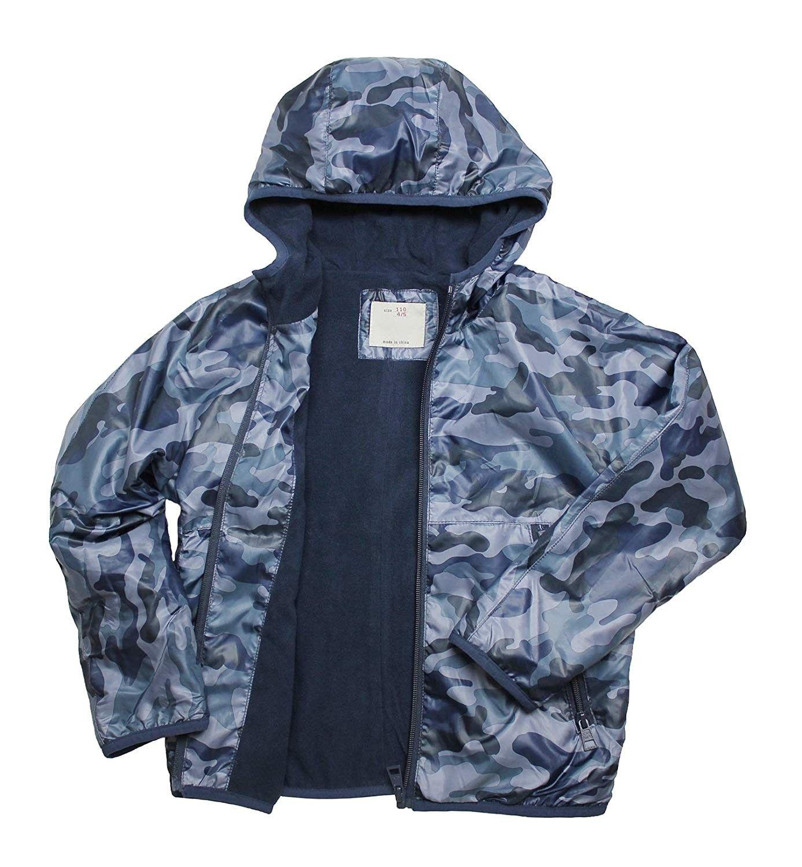Boys Spring Lightweight Coat Hooded Fleece Camouflage Outdoor Active Jacket 5 11t Blue Cf187uudw65 Lightweight Coats Active Jacket Outerwear Jackets [ 1500 x 1386 Pixel ]
