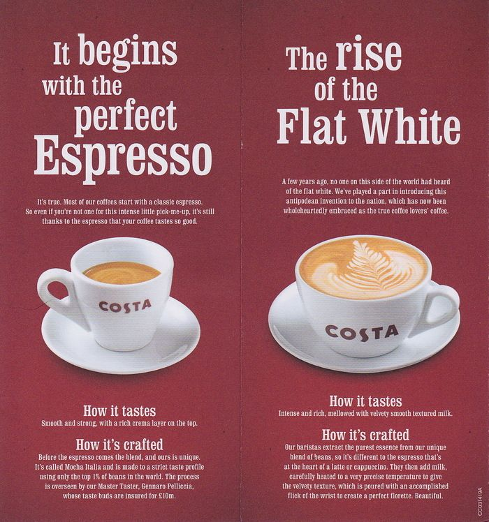 Costa Coffee Fonts In Use Coffee Fonts Costa Coffee Drinking Tea