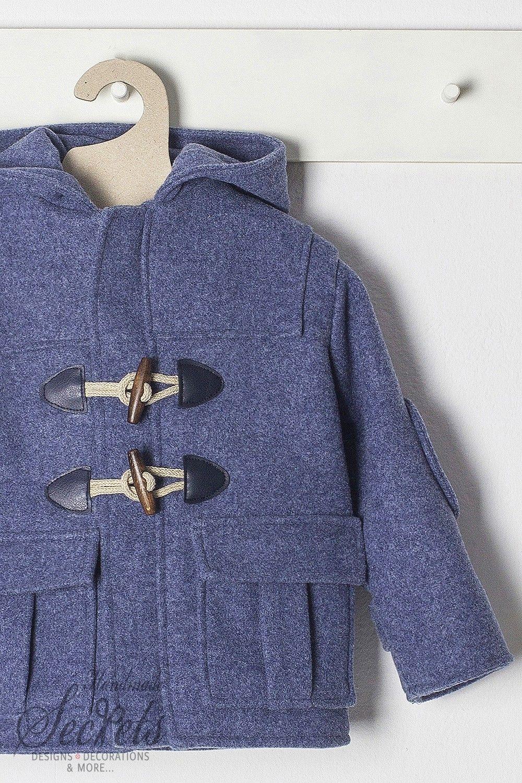 1cb0b8c1f03 Μπλε μοντγκόμερι παλτό της Bambolino για αγόρια, annassecret, Χειροποιητες  μπομπονιερες γαμου, Χειροποιητες μπομπονιερες