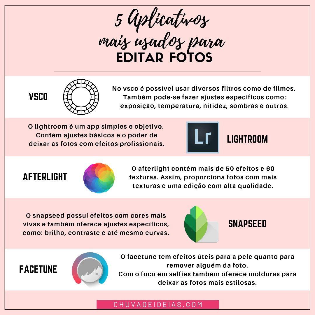 Pin De Maria Castro Em Edicao De Fotos Em 2020 Aplicativos Apps