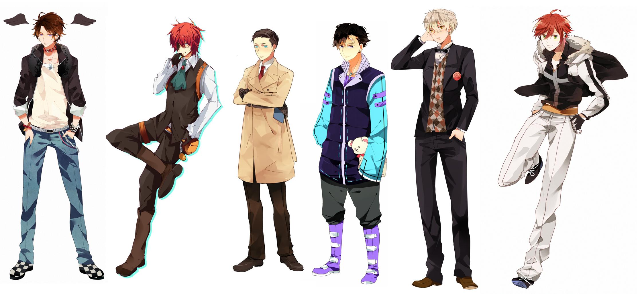 resultado de imagen para anime boy clothing anime boy