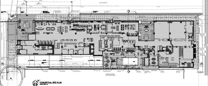 Courtyard By Marriott And Residence Inn By Marriott Downtown San Jose In 2020 Hotel San Jose Hotel Floor Site Plan