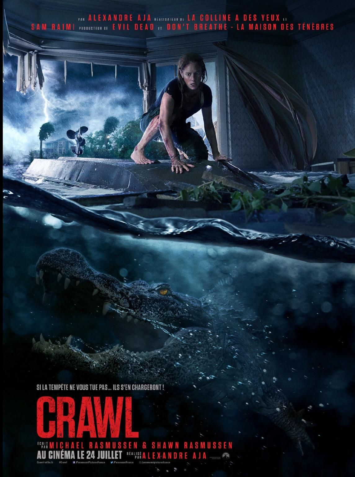 The Movie Crawl 2019 Does Not Feature The Line See You Later Alligator Therefore Making The Movie Absolute Shit Full Movies The Hills Have Eyes Movies 2019