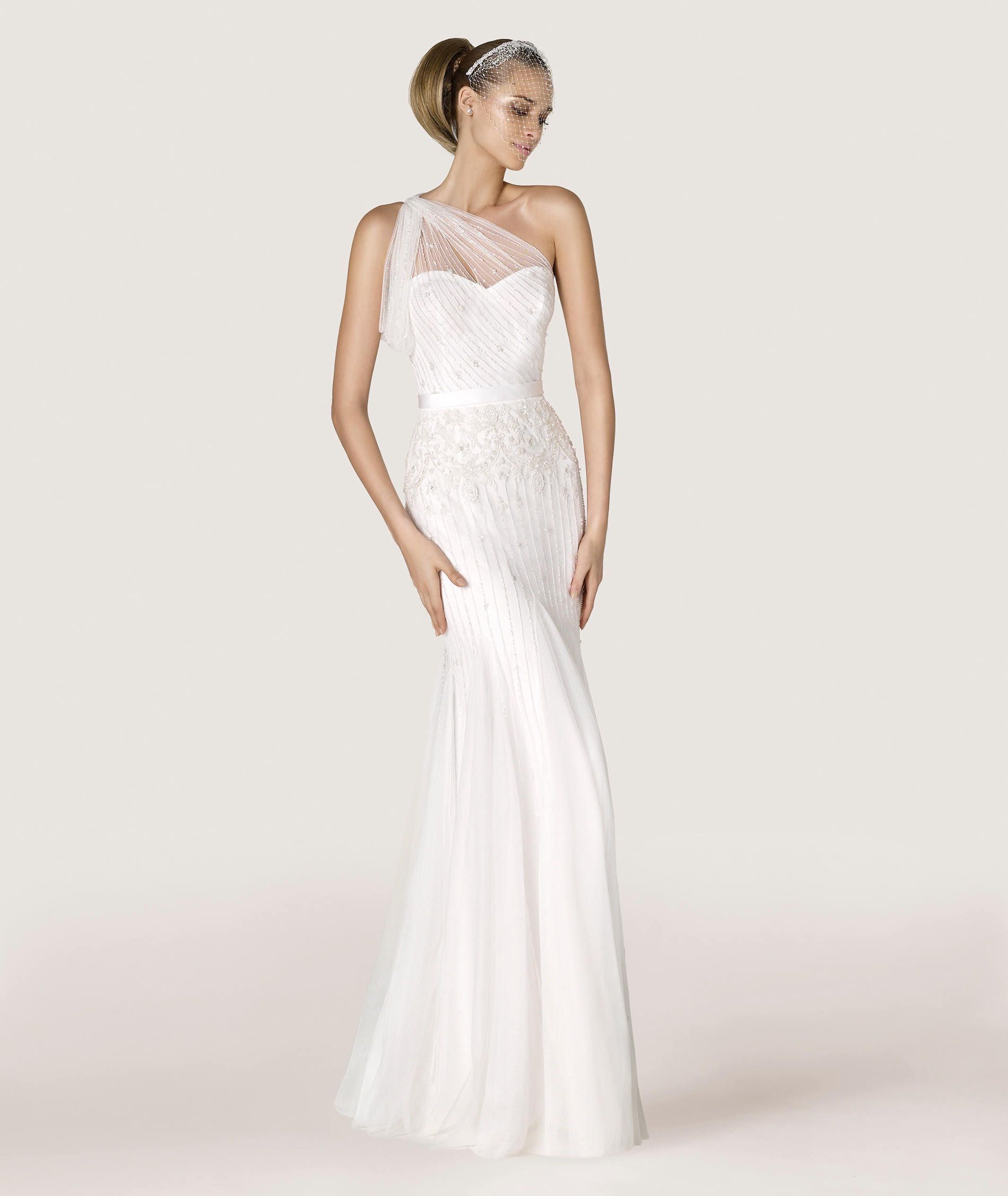 Brautkleid Antares. Kollektion CITY 2015 | Pronovias | Brautkleid ...