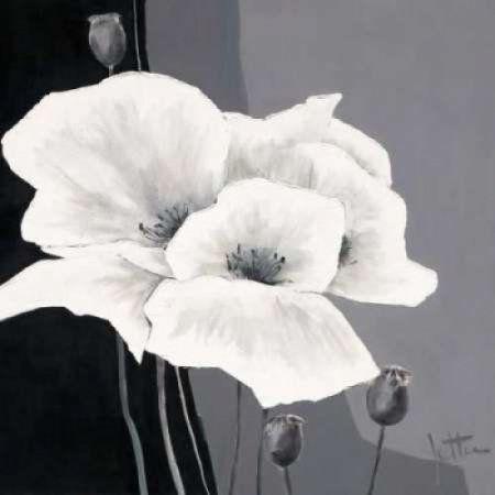 Decora I Canvas Art - Jettie Roseboom (24 x 24)