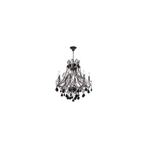 """Charleston Collection 28"""" Black Crystal Chandelier (£1,275) ❤ liked on Polyvore featuring home, lighting, ceiling lights, backgrounds, lamps, chandeliers, fillers, furniture, crystal chandelier and crystal chandelier lamp"""