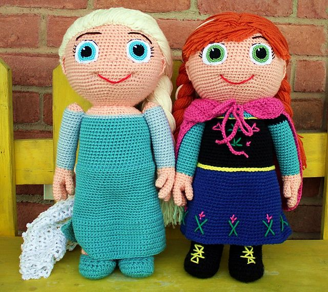 crochet, Ravelry: Ice Queen - Kid Character free pattern by Mary ...