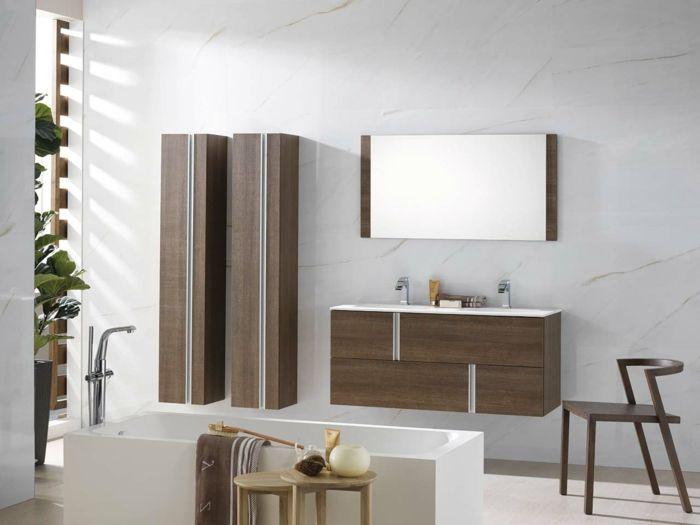 Moderne Badmöbel moderne badmöbel badewanne badschränke pflanzen badezimmer ideen