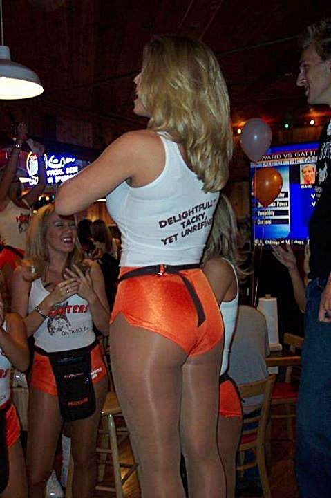 Hooters hot girls uniforms in