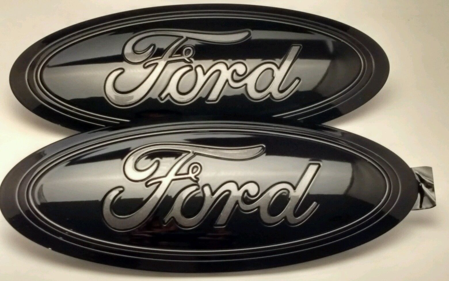 2015 2016 2017 Ford F 150 Black Magnetic Gray Logo Emblem