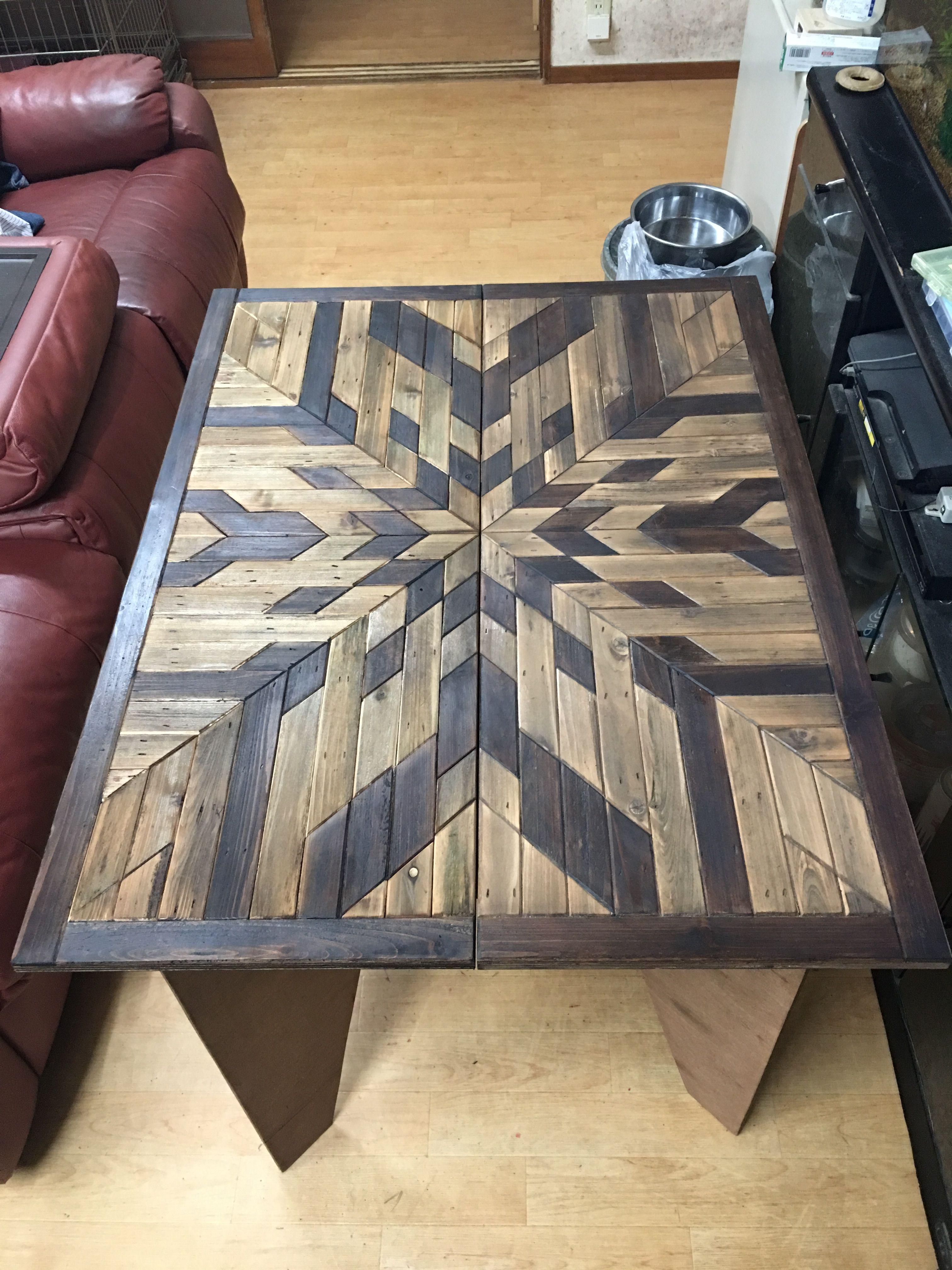 ローテーブル Wood Wall Art キャンプ テーブル 自作 インテリア 家具 インテリア