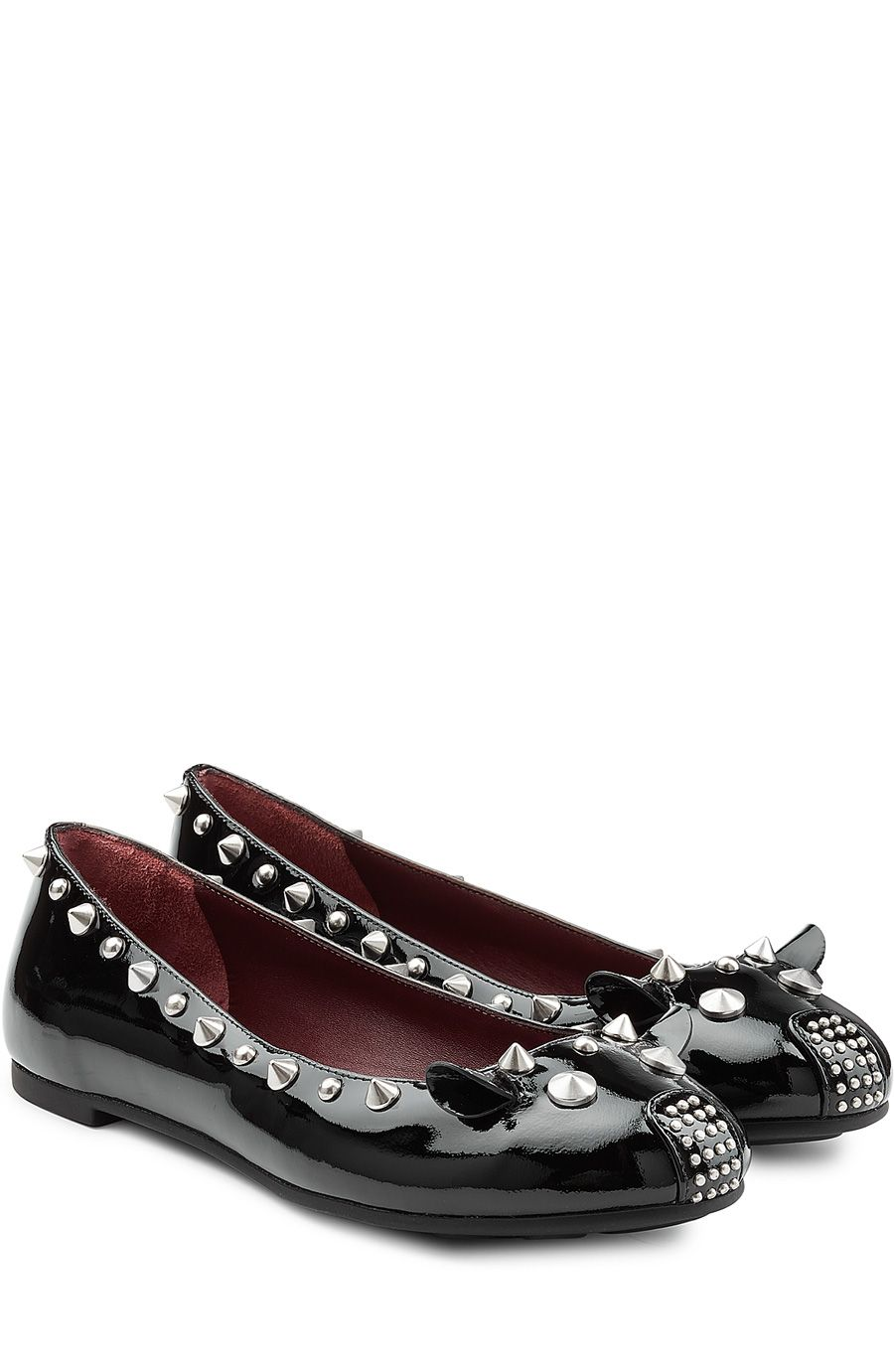 Punk Mouse Patent Leather Ballerinas Marc by Marc Jacobs