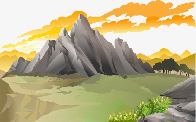 Vector Forest Forest Vector Mountains Stone Mountain Png Transparent Clipart Image And Psd File For Free Download Vector Clipart Images Vector Graphics