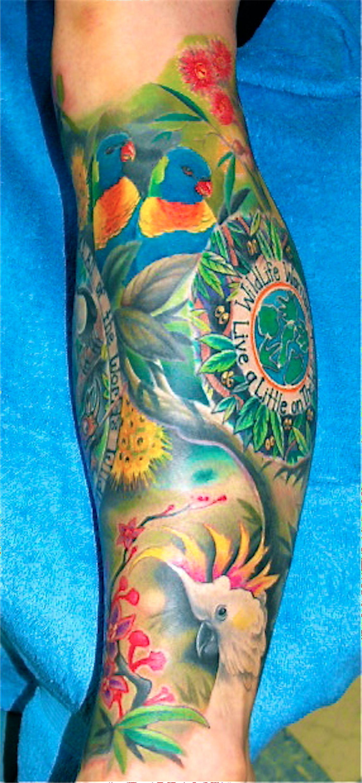 Aussie wildlife tattooist daniel brandt electric