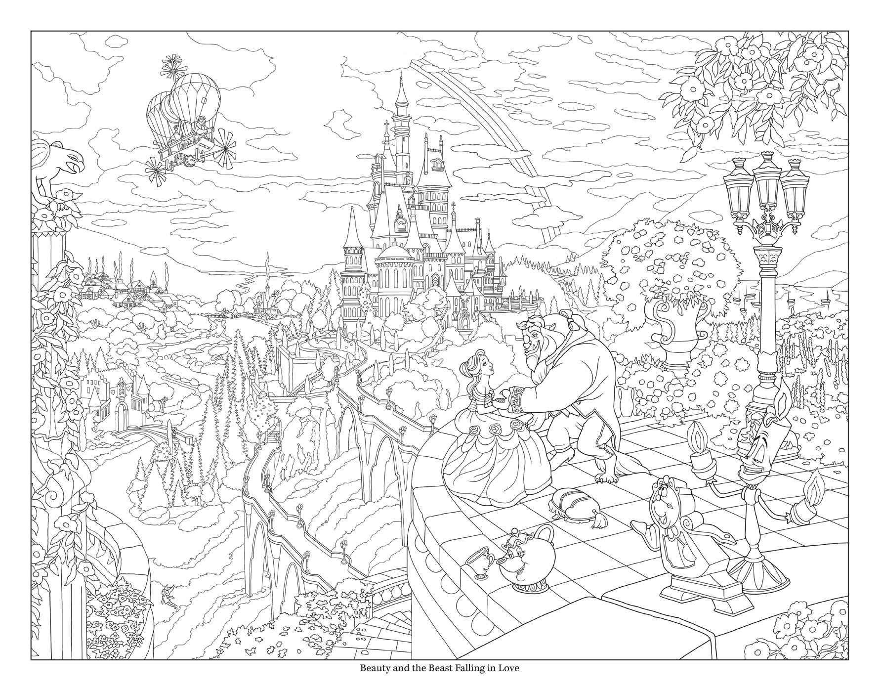 Disney Dreams Collection Thomas Kinkade Studios Disney Princess Coloring Book Paperback Princess Coloring Pages Disney Princess Colors Disney Coloring Pages