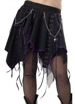 Dead Threads Gothika Skirt | Tøj, Mavedans, Inspiration