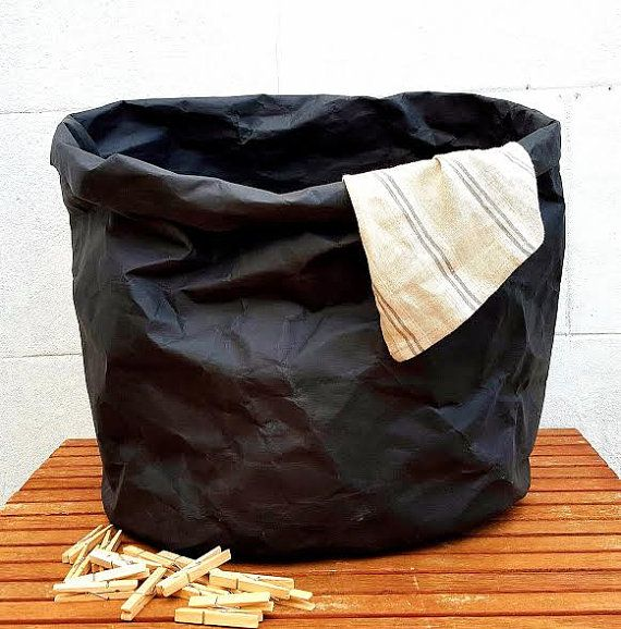Giant Paper Hamper Natural Washable Laundry Bag Extra Sturdy Large