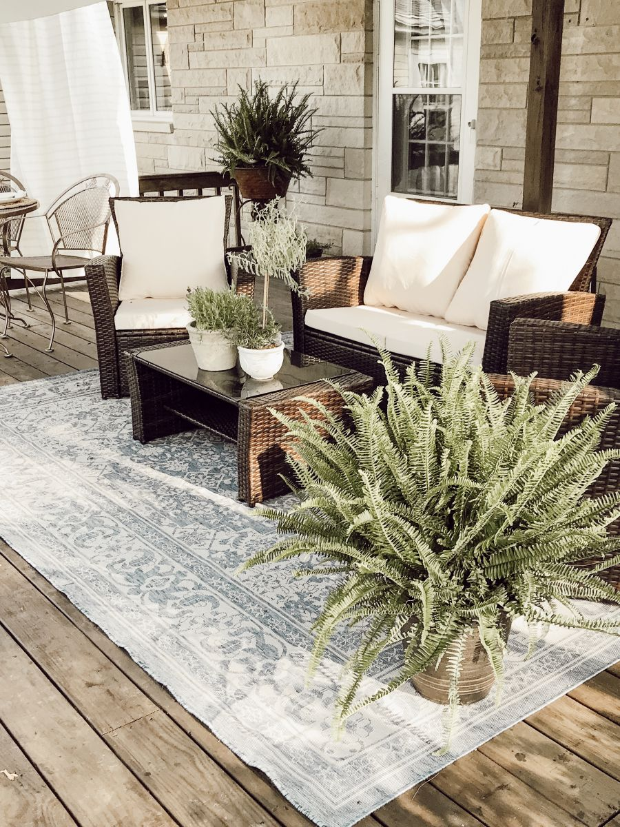 French-Inspired Patio Makeover   Outdoor Living and Decor ...