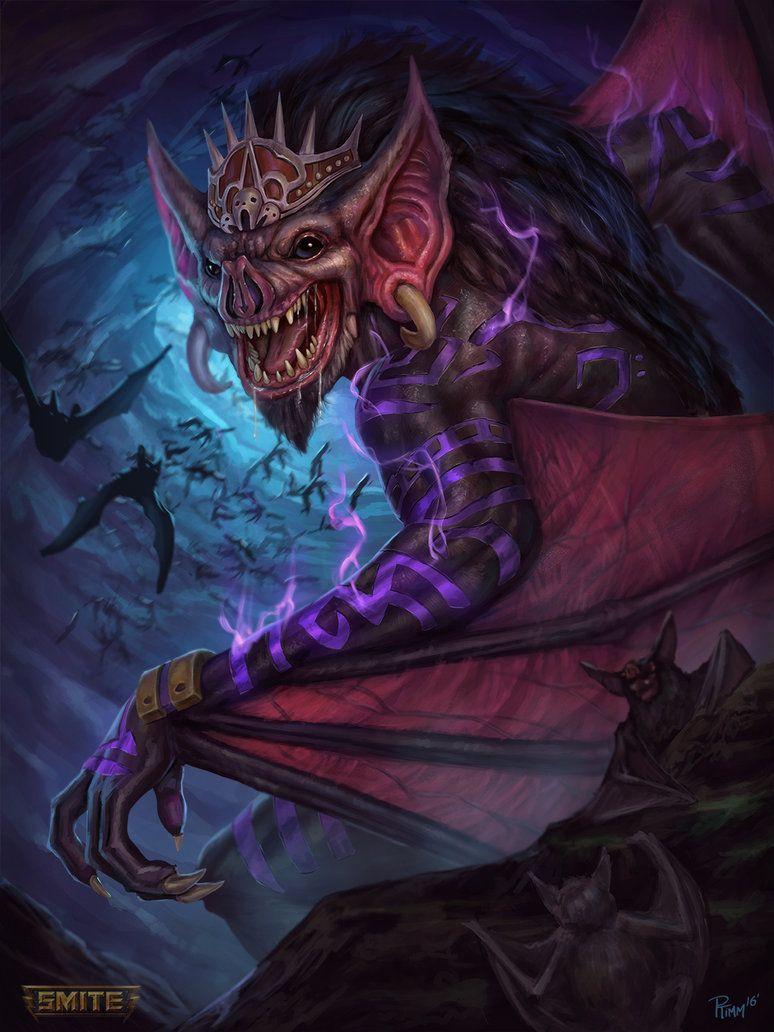 Camazotz Recolor By Ptimm Deviantart Com On Deviantart Character Art Mythological Creatures Fantasy Creatures