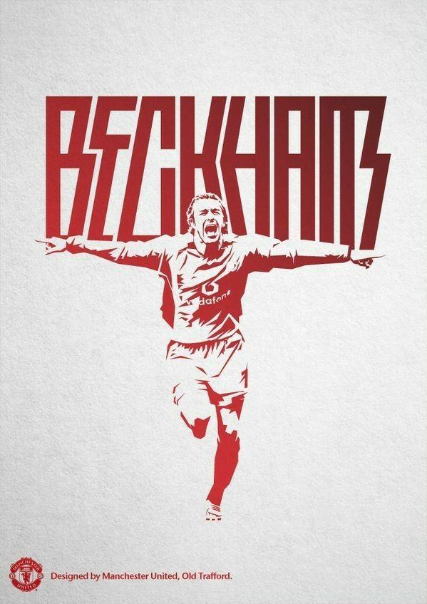 Manchesterunited 1993 2003 davidbeckham 7 - Manchester united david beckham wallpaper ...