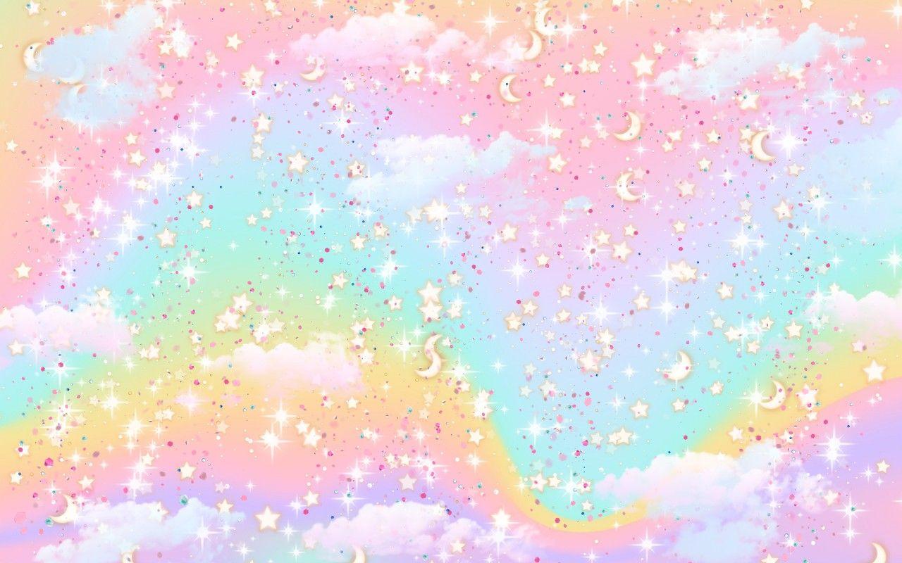 Pastel Rainbow Cute Aesthetic Desktop Background Wallpaper Desktop Wallpapers Backgrounds Pastel Rainbow Wallpaper