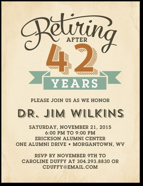 Trying To Set An Invitation Flyer For Retirement Party For My Boss Retirement Party Invitations Party Invite Template Retirement Invitation Template