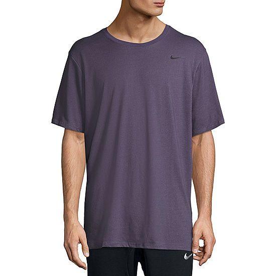 d2cad9d7dc71a Nike Heathered Dri-Fit Moisture Wicking Short Sleeve Tee | Brandon ...