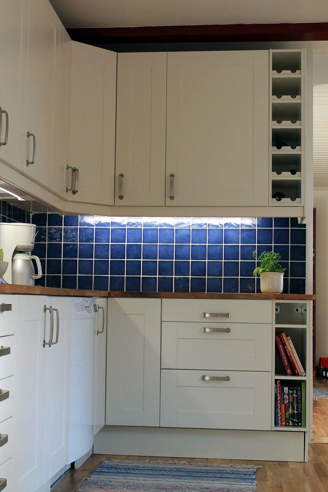 My Delights: blue kitchen tiles | Home | Pinterest | Kitchens, House ...
