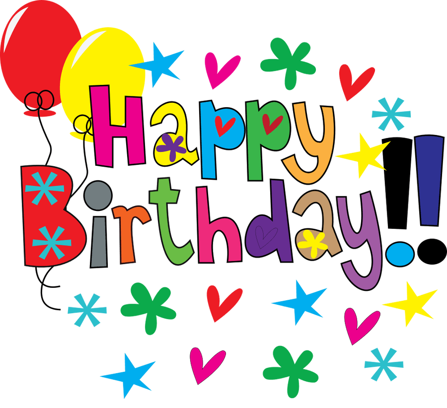 February Birthday Clipart | Free download best February ... (900 x 822 Pixel)