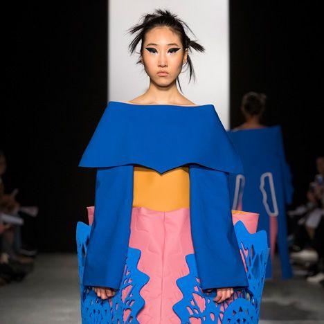 Westminster BA Fashion Design show 2015 Matt Witcombe