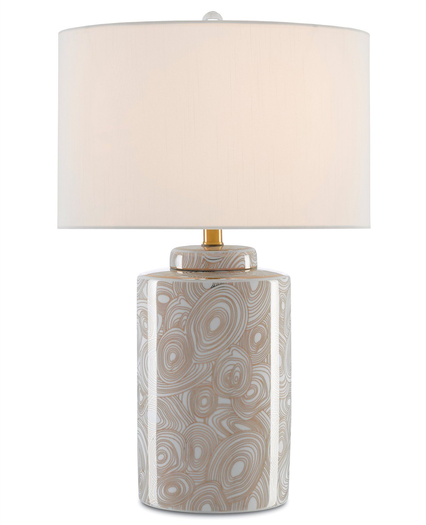 The Jules Table Lamp Showcased By Currey And Company Is Artfully Crafted Of Porcelain In The Shape Of An Antique Tea Canister And T Lamp Table Lamp Antique Tea