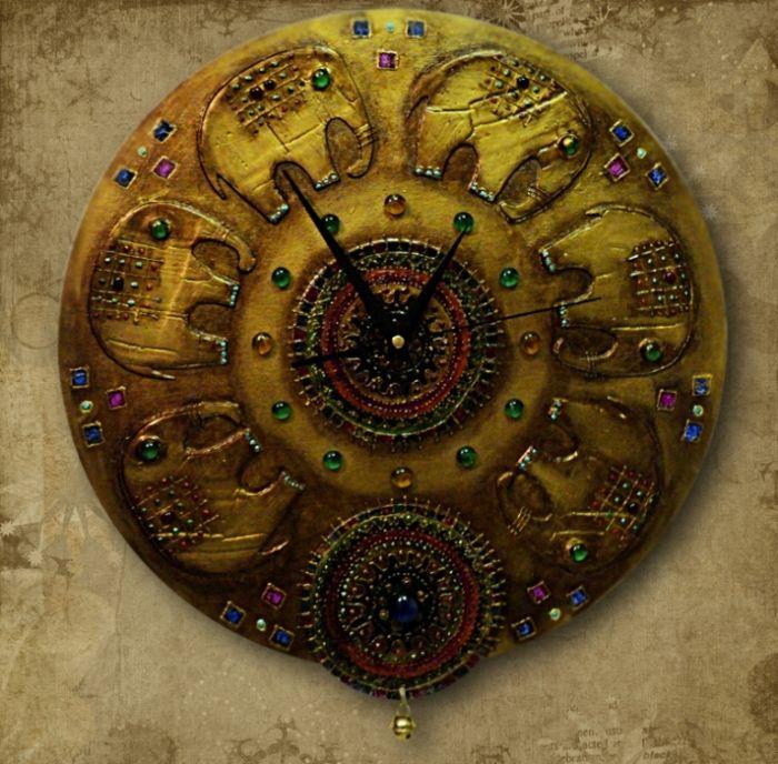 """Часы """"Старая Индия"""". Обсуждение на LiveInternet ..."""