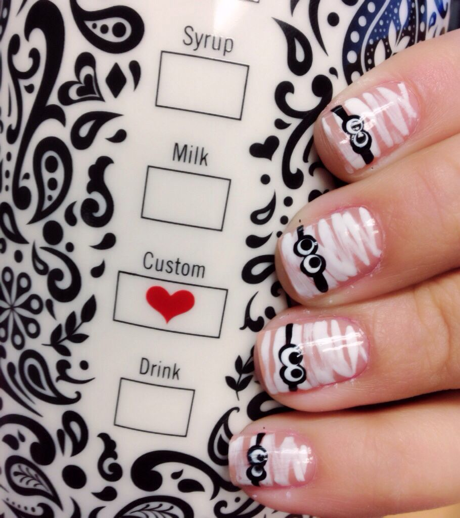 Mummy nails | Completed Pins by Me | Pinterest | Diva nails, Beauty ...