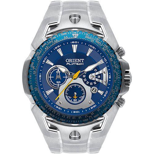 124b94ac675 Relógio Masculino Orient Analógico Flytech Titanium Esportivo MBTTC006 D1SX