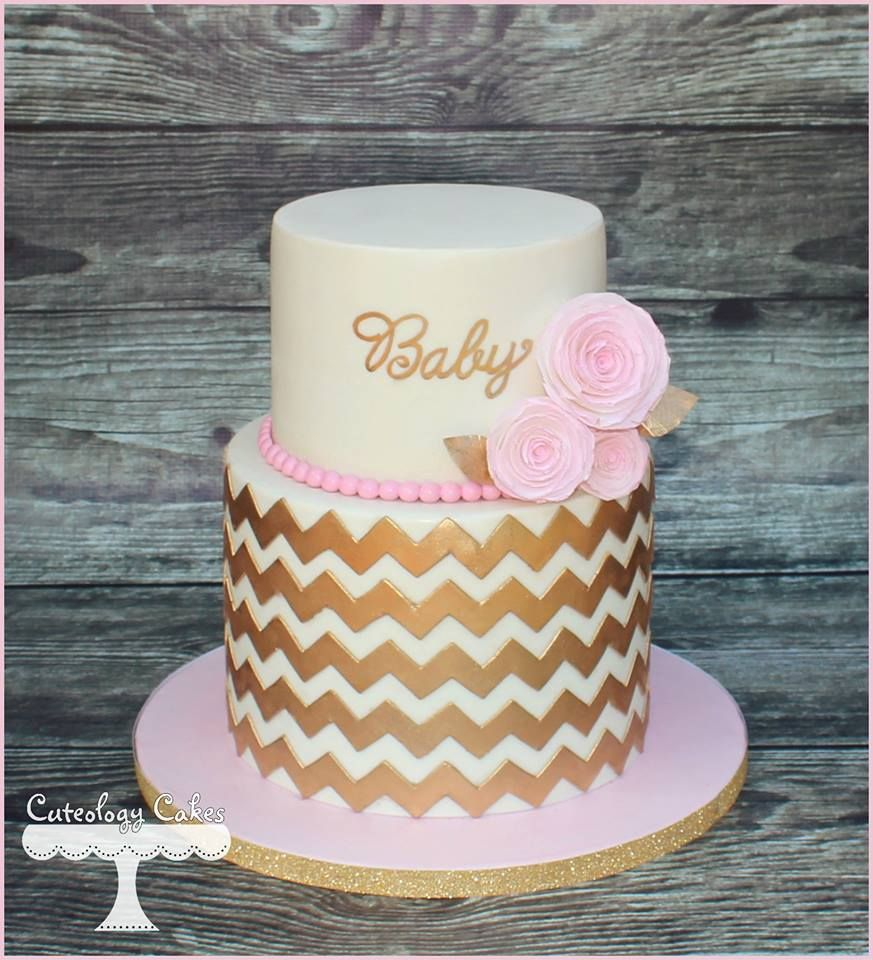 baby shower cakes baby cakes girl shower diaper cakes pink and gold