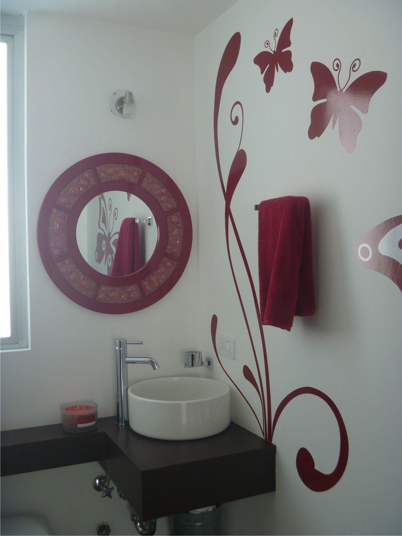 vinilo decorativo en baño