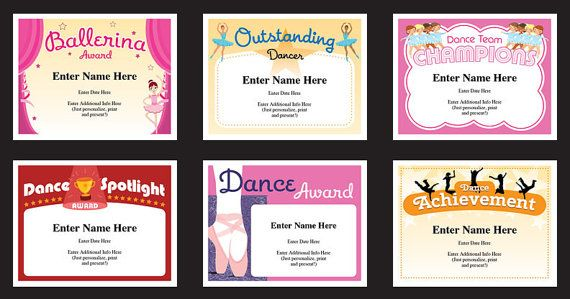 Dance certificate pack dancing awards dance team printables dance certificate pack dancing awards dance team printables child certificates dance templates dancing certificates best seller yadclub Image collections