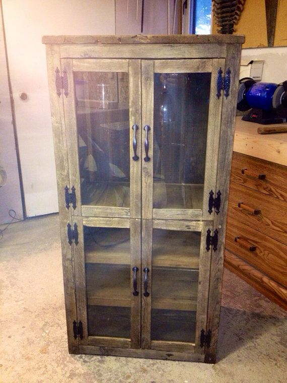 Rustic Farmhouse Style Wine Liquor Cabinet By Beautifulhousecanada 650 00