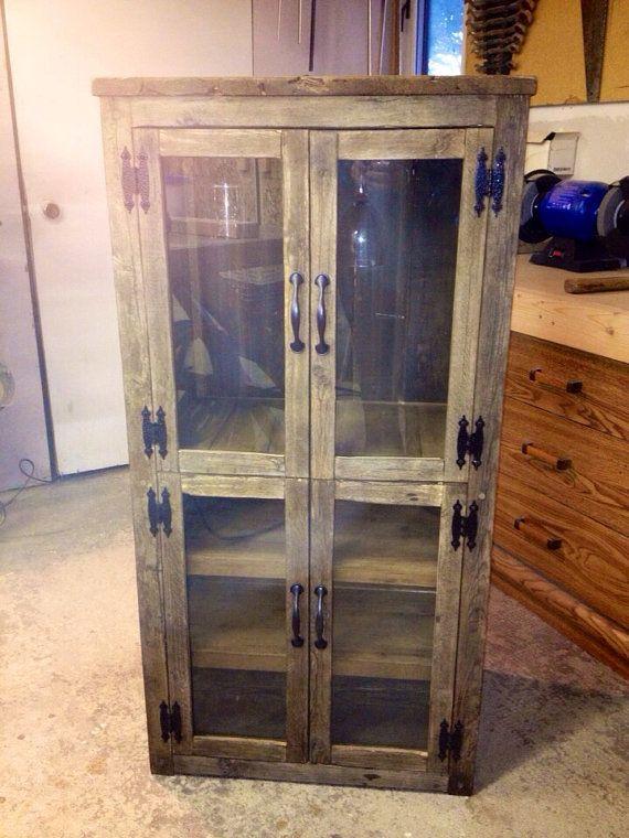 Rustic Farmhouse Style Wine Liquor Cabinet By Beautifulhousecanada
