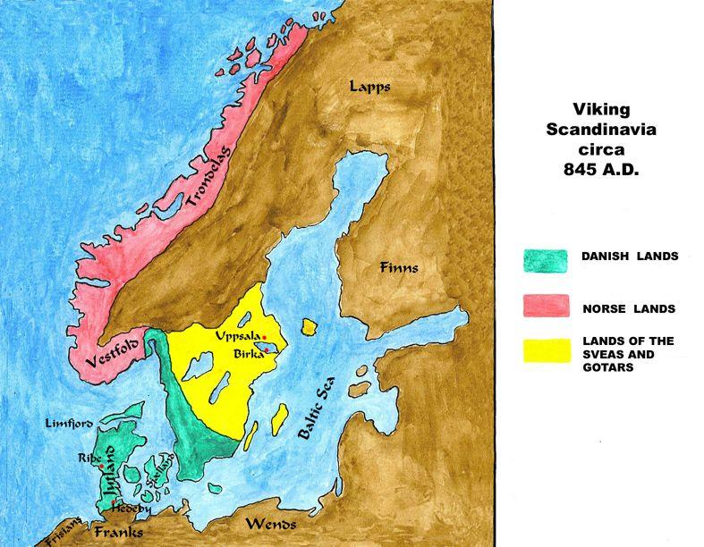 845map Med Jpg 787 612 Viking Tribes Ancient Vikings Norse