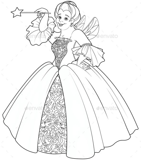 Fairy Godmother Making a Wish | Fairy godmother, Fairy ...