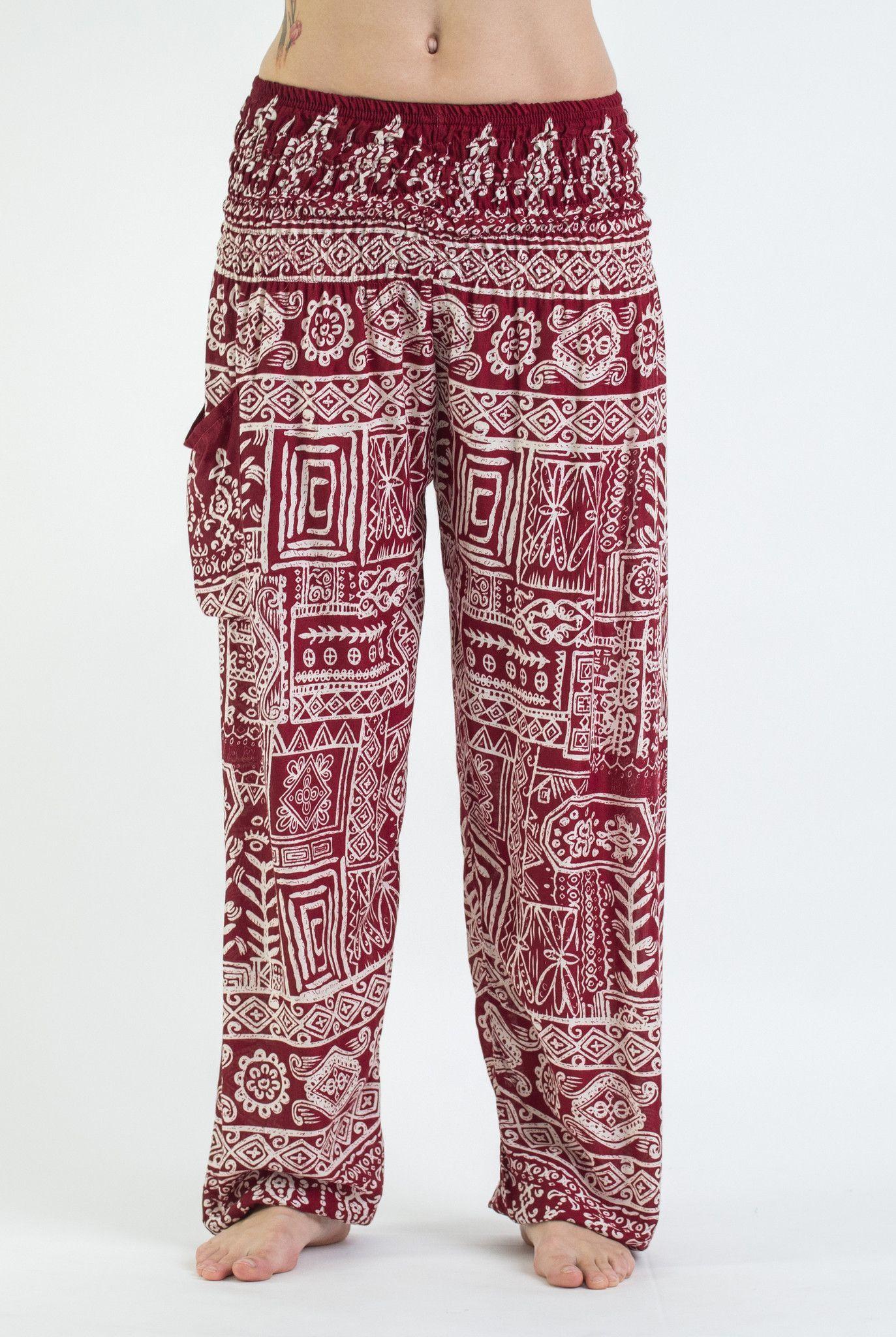 Thailand Harem Genie Unisex Thai Super Soft Yoga Pants Elastic waist,  elastic…