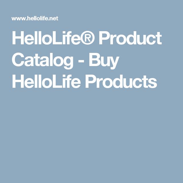 HelloLife® Product Catalog - Buy HelloLife Products